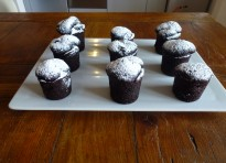 Mini muffin cioccolata e pere