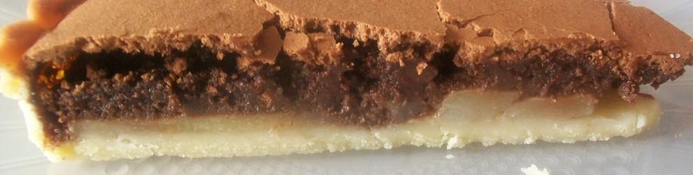 Crostata pere e cioccolata