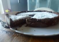 Crostata al cocco e cacao