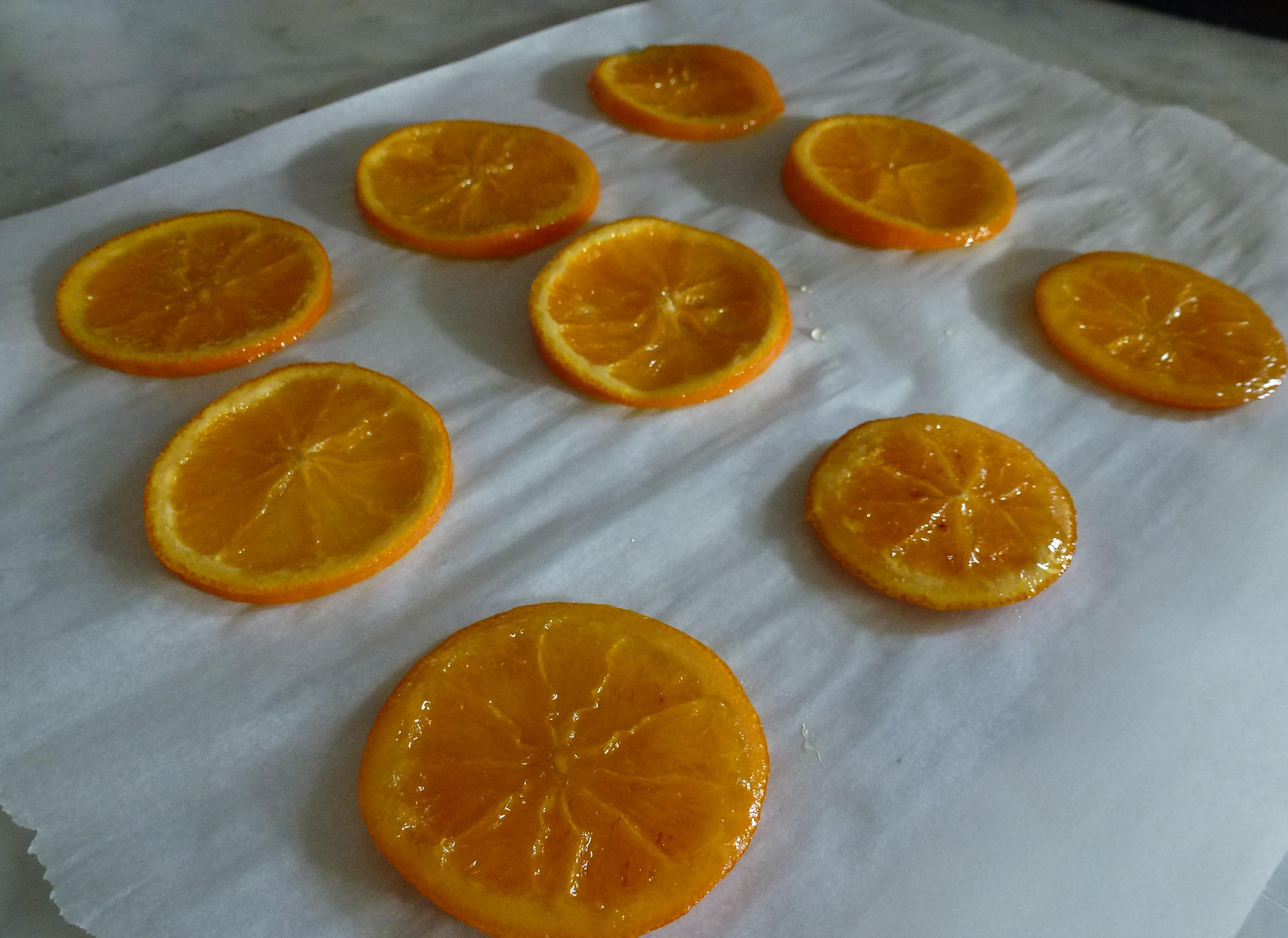 Arance caramellate - Arance secche decorazione ...