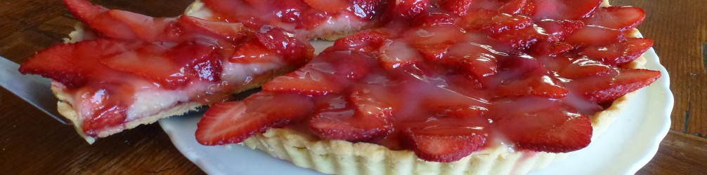 Crostata di fragole vegan