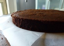 Torta alla cioccolata (chocolate buttercake)