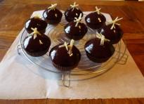 Cupcakes speziati alla cioccolata