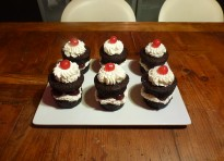 Minicakes della foresta nera